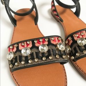 bca72d0f01890 Vince Camuto Shoes - Vince Camuto jeweled flat sandals
